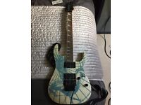 Ibanez RG09 LTD Pegasus pearl white limited edition guitar