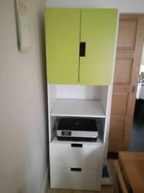 Ikea Stuva child combination storage wardrobe with drawers and selfs
