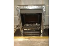 Electric fire work surround