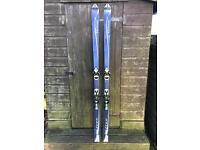 X-free 185 Salomon Skis and bindings