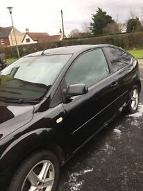 Ford Focus Titanium, heated windscreen, automatic lights and wipers, 6 months MOT