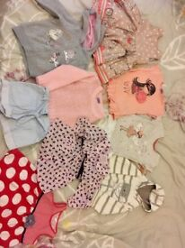 Bundle of girls clothes 1-2 year old
