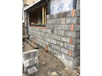 Bricklayer 1-1 available for weekends!!