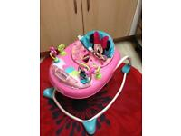 Minnie Mouse baby walker & toy