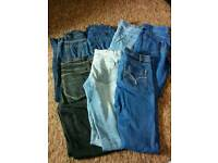 Seven pairs of Jeans & Jeggings size 6
