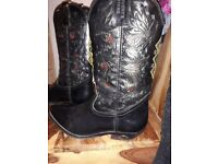Mens western boots