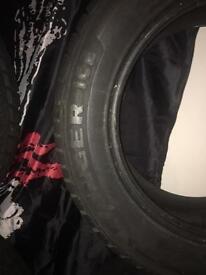 4 x Avon Ranger Ice Tyres 255/55 r18