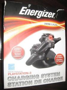 Energizer Charging Station for Sony PS3 Wireless Controller. Like NEW.