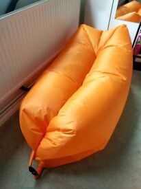 Inflatable Lounger Couch, Air Sleeping Bed