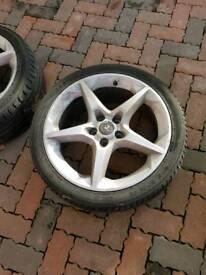 18inch Vauxhall Penta alloy wheels