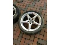 18inch Vauxhall Penta alloy wheels