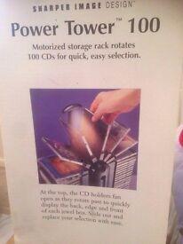 Power Tower 100 motorised CD rack