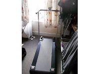 SOLD waiting for collection....... Pro fitness manual treadmill good working condition