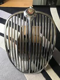 Mk2 Jaguar chrome grill