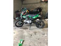 Pit bike stomp 125cc 2014