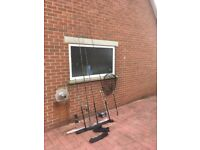 4 No. Fishing Rods, 1 No. Reel & Accessories Bundle ***BARGAIN £35***