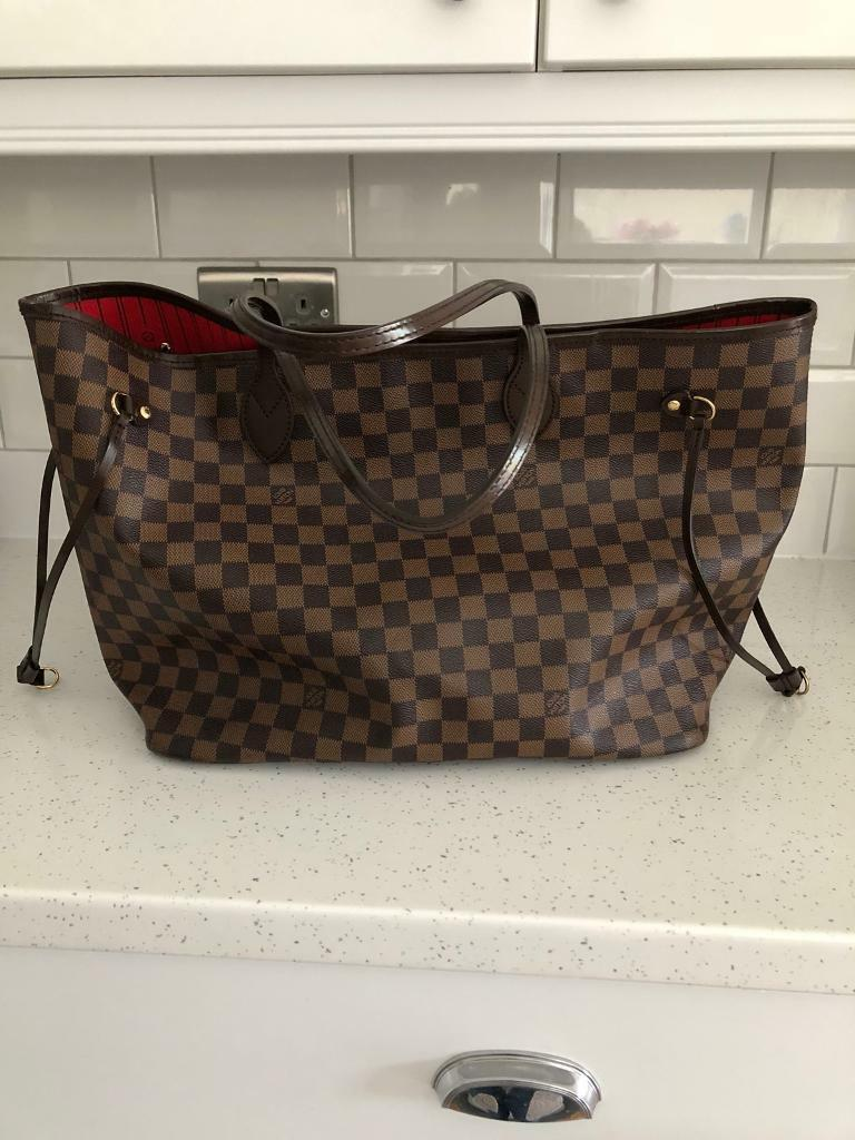 Louis Vuitton Neverfull GM Damier Ebene canvas  b97f2012a7f8b