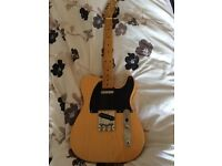 Fender squire telecaster 50's classic vibes