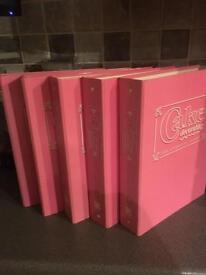 Cake Decorating books.