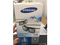Samsung 3D glasses x2