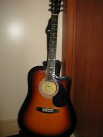 Fender Squier electroacoustic guitar
