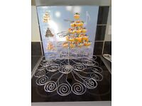 Large wire cupcake stand, used once
