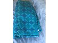Ikea Lyksele turquoise sofa bed cover