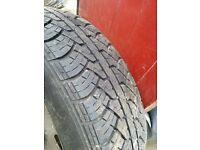 Ford Ka 155/70 r13 admiral tyre (part worn)
