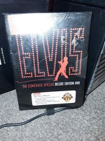 Elvis DVD 68 Comback Speacial new unopen