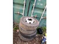 TYRES AND RIMS FOR LDV CONVOY, EXCELLENT CONDITION