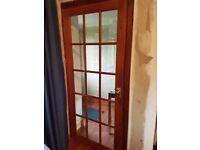 Two Interior Glass doors