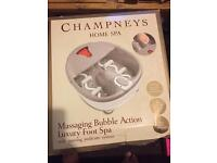 Champneys home spa foot massager