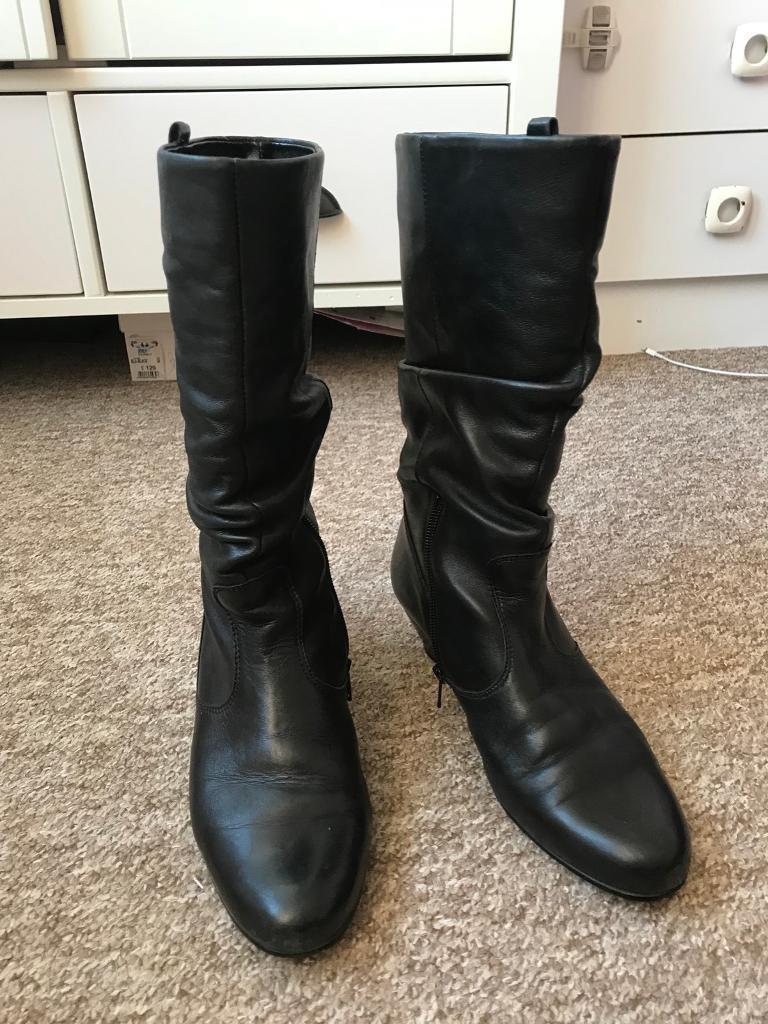 d93319bf965 GABOR 'Rachel' Ladies Comfort Wide Calf Leather Boots 5, RRP £135, Exc  Condition | in Ipswich, Suffolk | Gumtree