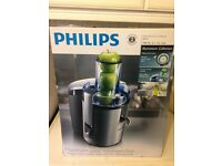 Phillips HR1861 Aluminium Juicer with no scratches on body. Perfect workin order