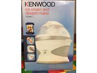 Kenwood Ice Cream & Dessert Maker