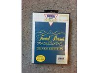 Trivial Pursuit Genus Edition Sega Master System Game