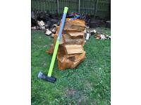 Seasoned Quality Firewood Logs Bagged And Ready (Approx 15-17kg per bag)