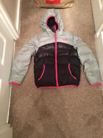 Girls North Face Coat