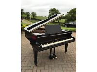"""Black baby grand piano 4"""".6ft
