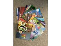 23 x Disney story books