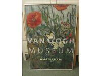 Van Gogh framed poster