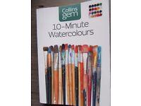 10-Minute Watercolours (Collins Gem) by Soan, Hazel (2012)