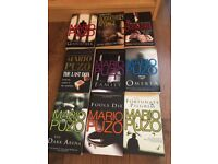 Mario Puzo s books 9 like new