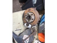 Vw Mk4 golf disc brakes.