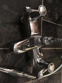 Bath Taps with Shower Attachment