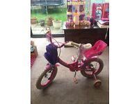 "Girls Raleigh Molly Bike 14"""