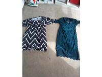 2 Asos maternity dresses