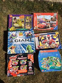 6 x Childrens Puzzle