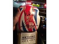 Anthony Joshua world title fight 29/04/17 signed Glove