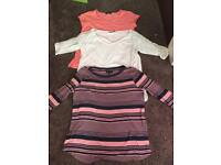 Bundle of maternity clothes size 12/14